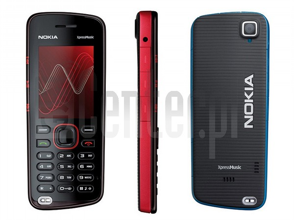 NOKIA 5220 XpressMusic image on imei.info