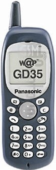PANASONIC GD35 image on imei.info
