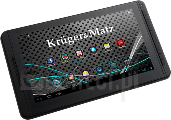 KRUGER & MATZ Tablet PC 7 image on imei.info