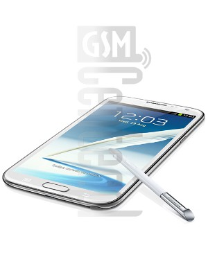 SAMSUNG N7105T Galaxy Note II image on imei.info
