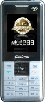 CoolPAD 289 image on imei.info