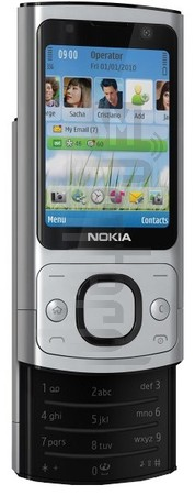 NOKIA 6700 slide image on imei.info