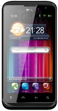TCL A968 image on imei.info