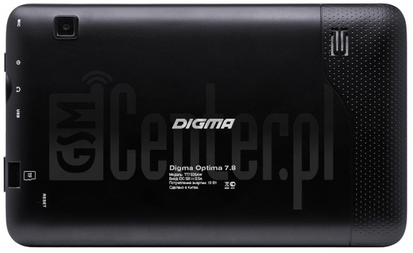 DIGMA Optima 7.8 image on imei.info