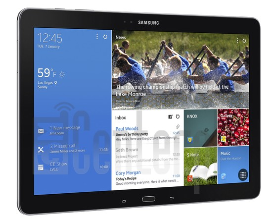 SAMSUNG P901 Galaxy Note Pro 12.2 3G image on imei.info