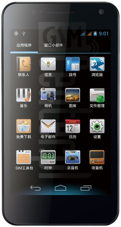 GIONEE GN868 image on imei.info