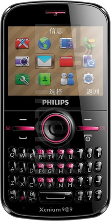 PHILIPS F322 Xenium  image on imei.info