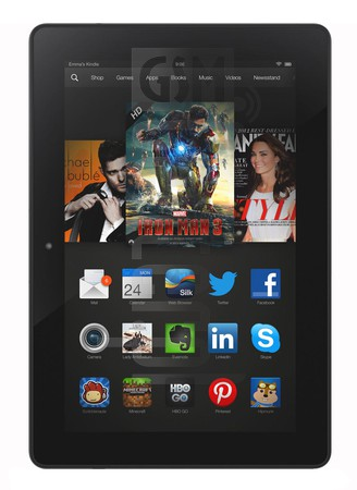 AMAZON Fire HDX 8.9 LTE image on imei.info