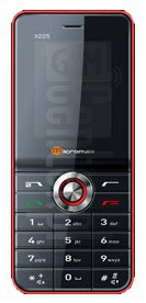 MICROMAX X225 image on imei.info