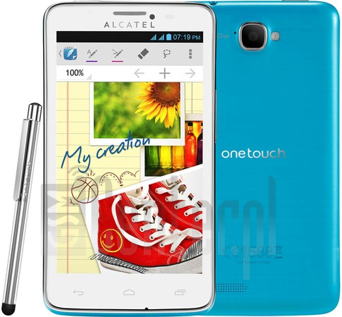 ALCATEL 8000D One Scribe Easy Touch Dual Sim image on imei.info