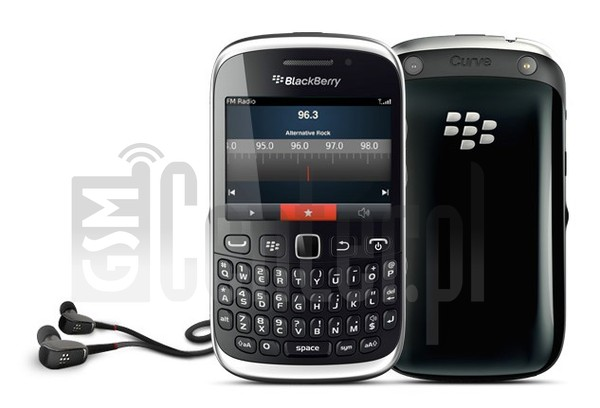 BLACKBERRY 9315 Curve image on imei.info