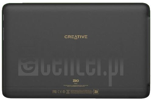 CREATIVE ZiiO 10 image on imei.info