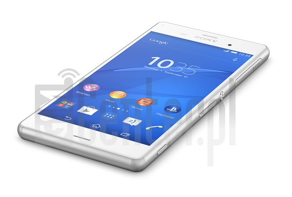SONY Xperia Z3 TD-LTE L55T image on imei.info