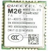 IMEI Check QUECTEL M26 on imei.info