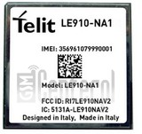 IMEI Check TELIT LE910-NA1 on imei.info