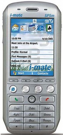I-MATE SP5m (HTC Tornado) image on imei.info