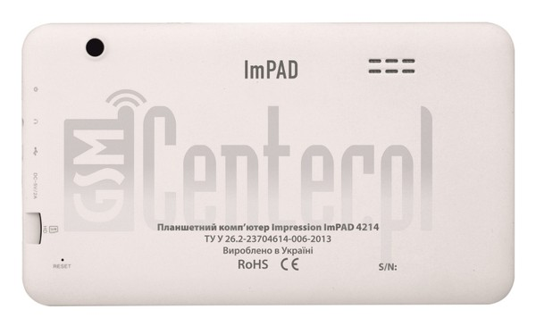 IMPRESSION ImPAD 4214 image on imei.info