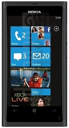 NOKIA Lumia 800 image on imei.info