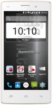 STARMOBILE Up Max image on imei.info