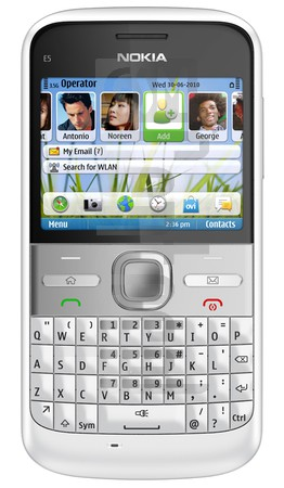 NOKIA E5 image on imei.info
