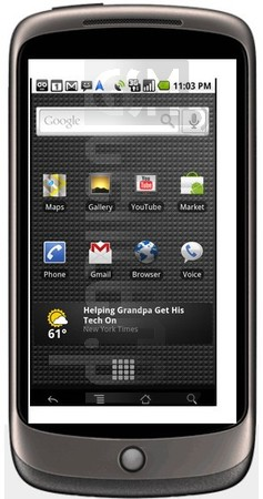 GOOGLE Nexus One image on imei.info