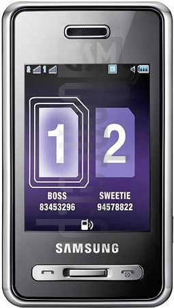 SAMSUNG D980 Duos image on imei.info