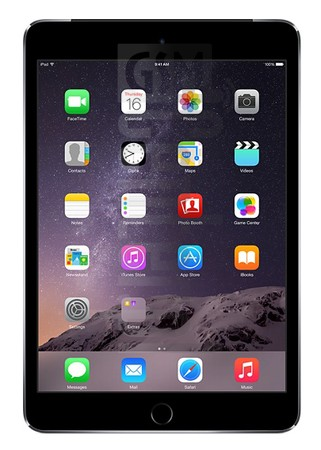 APPLE iPad mini 3 Wi-Fi + Cellular image on imei.info