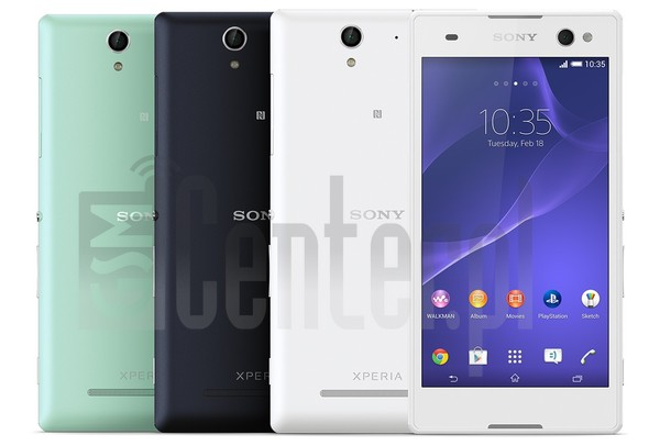 SONY Xperia C3 D2533 Specification - IMEI info