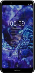 NOKIA 5.1 Plus image on imei.info