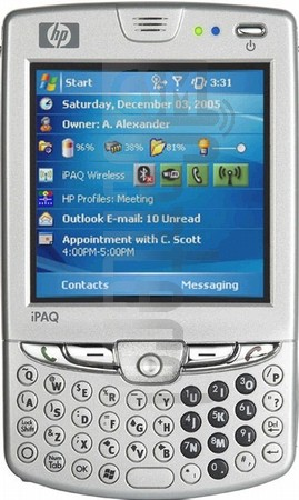 HP iPAQ hw6945 (HTC Sable) image on imei.info