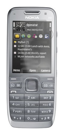 NOKIA E52 image on imei.info