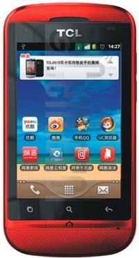 TCL A919 image on imei.info