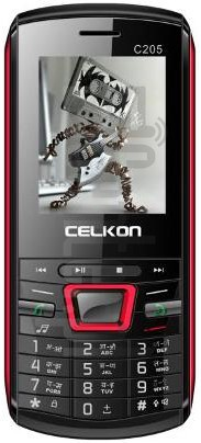CELKON C205 image on imei.info
