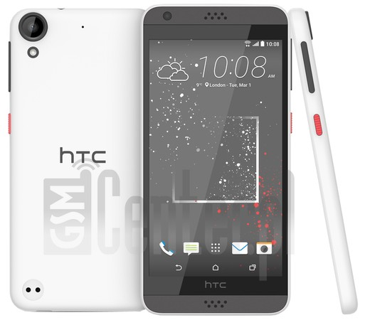 HTC Desire 530 image on imei.info