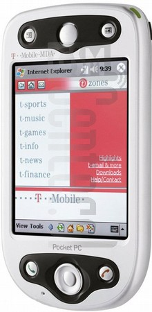 T-MOBILE MDA II (HTC Himalaya) image on imei.info