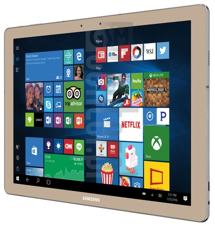 "SAMSUNG W700N Galaxy TabPro S 12"" Gold Edition image on imei.info"