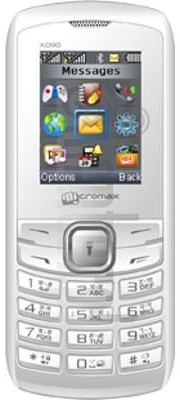 MICROMAX X090 image on imei.info