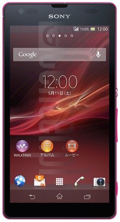 SONY Xperia UL SOL22 image on imei.info