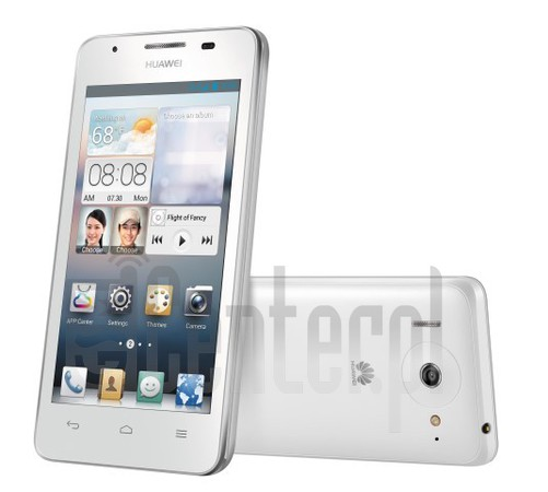 HUAWEI Ascend G510 image on imei.info