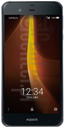 SHARP Aquos Xx3 506SH image on imei.info