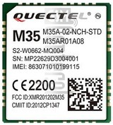 IMEI Check QUECTEL M35 on imei.info