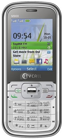 CITYCALL M900 image on imei.info
