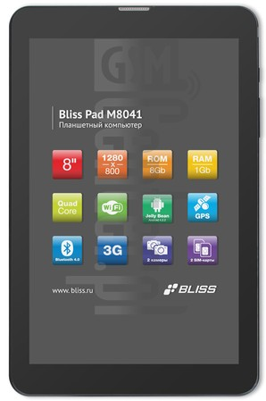 BLISS Pad M8041 image on imei.info