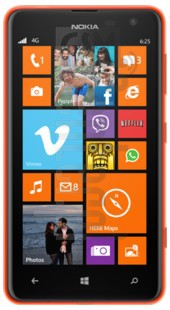 NOKIA Lumia 625 image on imei.info