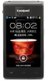 CoolPAD A520 image on imei.info