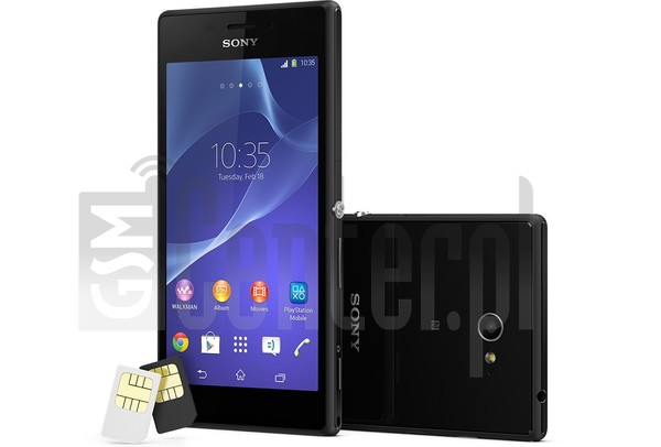 SONY Xperia M2 dual D2302 image on imei.info