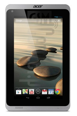 ACER B1-720 Iconia Tab image on imei.info