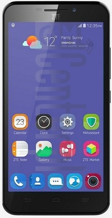 ZTE Grand S3 image on imei.info