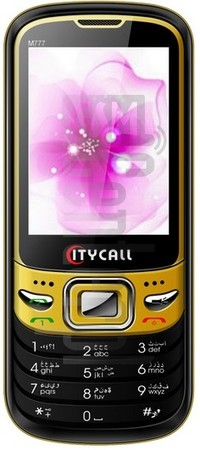 CITYCALL M777 image on imei.info