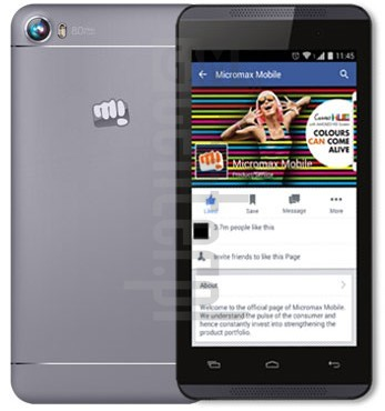 MICROMAX Canvas Fire 4 A107 image on imei.info